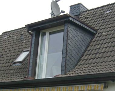 Die Balkonaustrittsgaube in kleinerer Form