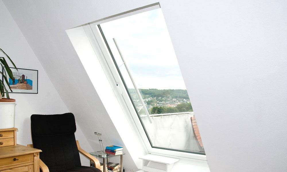 Balkonausstiegfenster