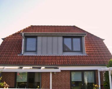 Die Anordnung der Fenster variiert