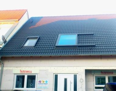 In Kombination mit einem klassichen Dachfenster