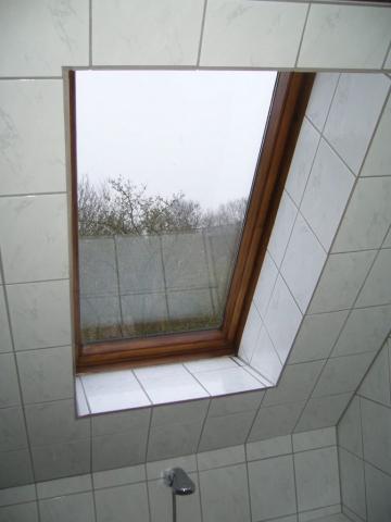 Dachfenster Bad vorher