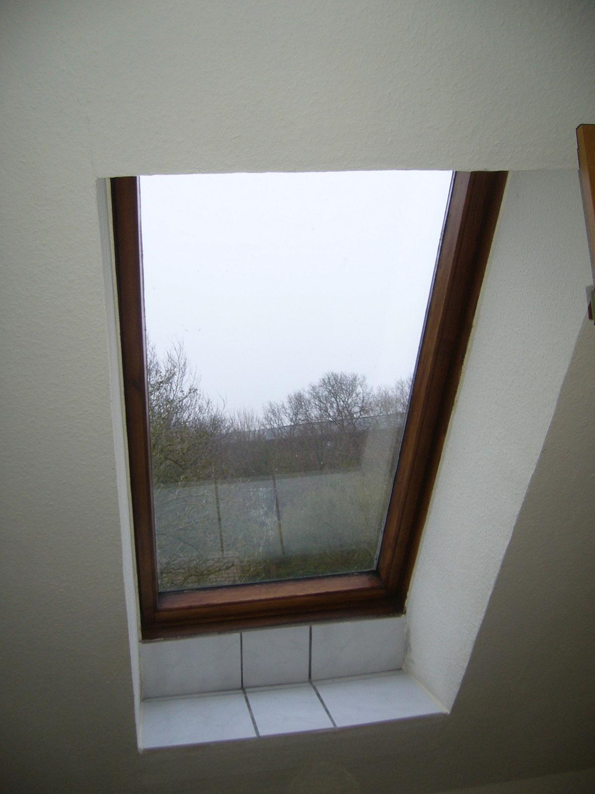 Dachfenster vorher