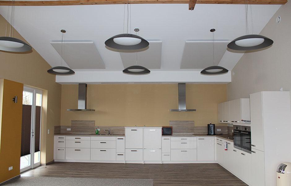 Raumakustik Küche