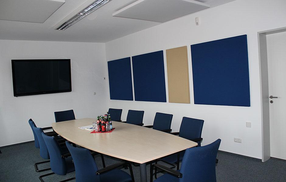 Raumakustik Konferenzraum